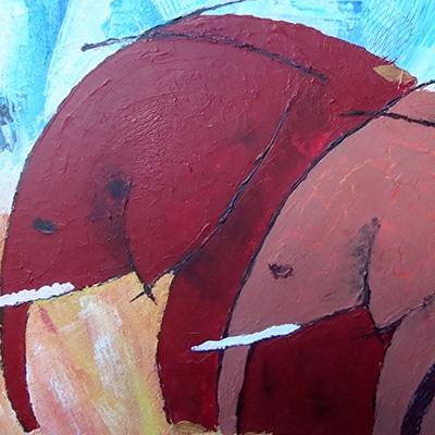 Animaliere Serge Lefox Painting