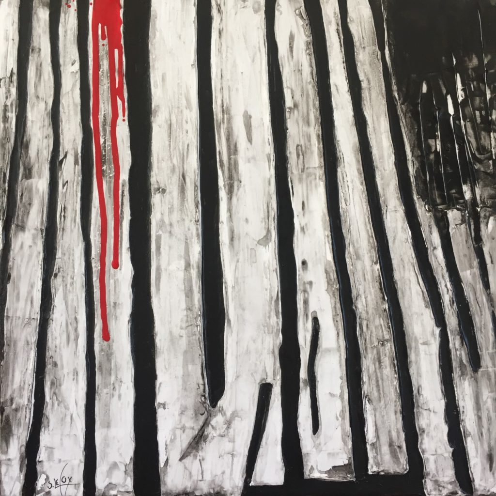 MANIGANCE</br>Acrylic sur toile 50X50