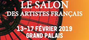 Serge Lefox Salon des Artistes Français Grand Palais 2019