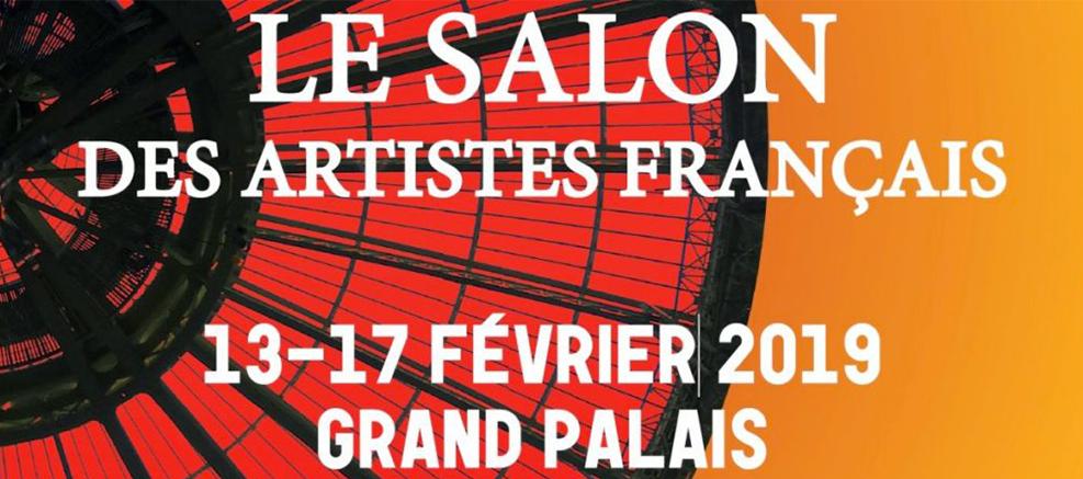 salon des artistes français paris serge lefox painting