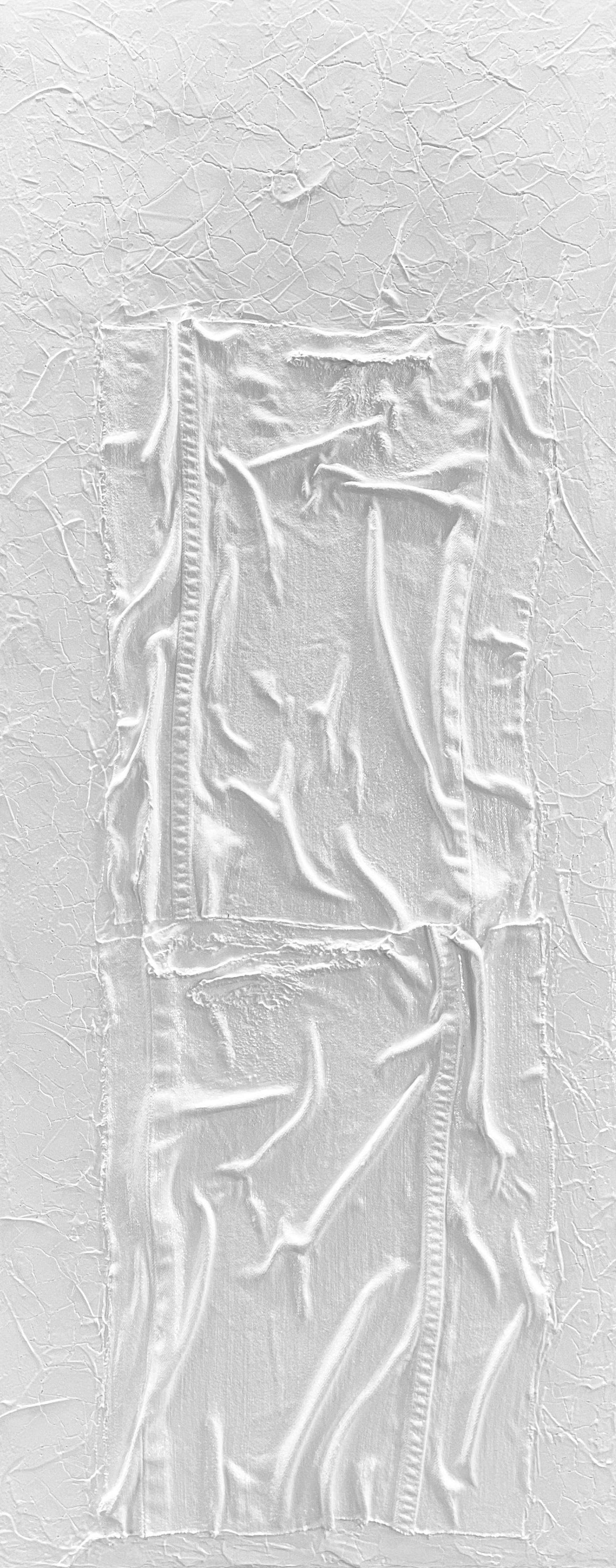 REALITE DECOMPOSEE 2.501</br> Acrylic on canvas 40 X 100 Signé au dos