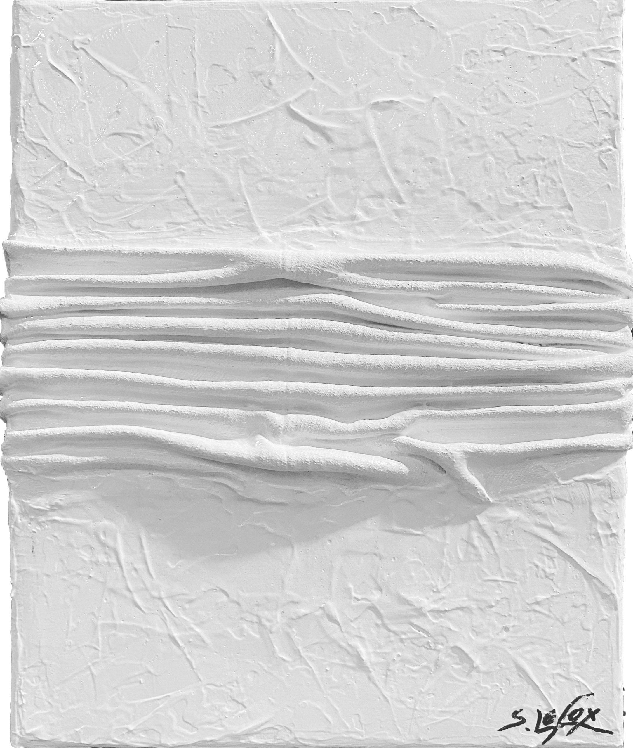 LIMPIDITE CORROMPUE</br> Acrylic on canvas 22 X 27 SBD