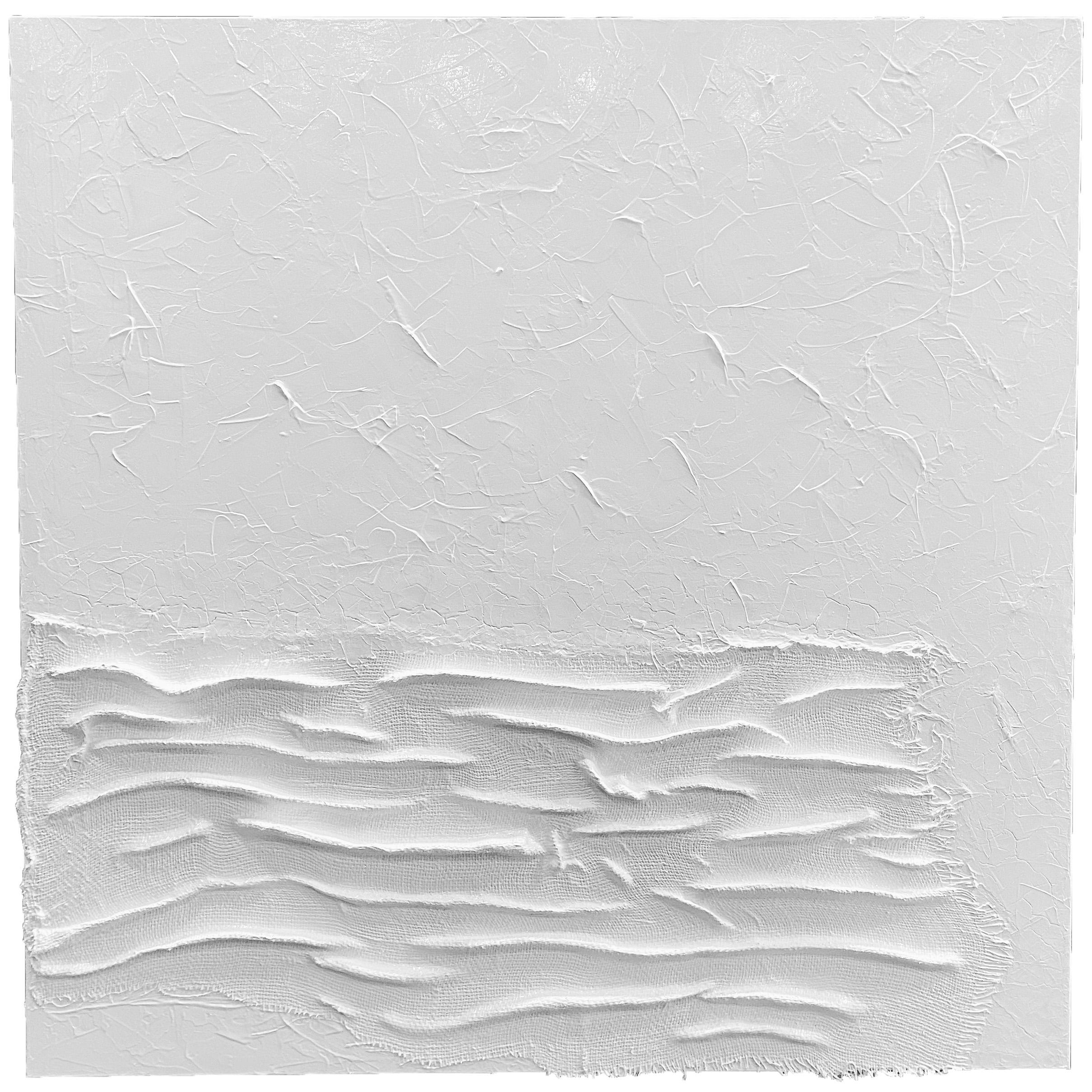 MEDIATION D'IMMENSITE</br> Acrylic on canvas 100 X 100 Signé au dos